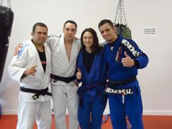 Gene Simco, Heather Simco with Amaury Bitetti and Marcelo Nigue